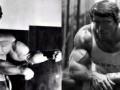 تمارين شد الذراع مع Arnold