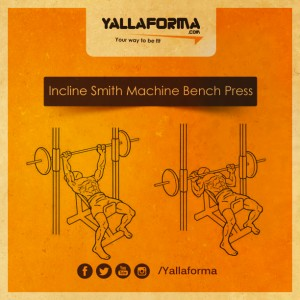 Incline Smith Machine Bench Press