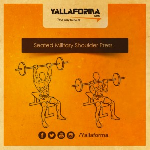 Seated Military Shoulder Press