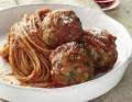 وصفة المكرونة السباجيتي مع ديك رومى وصوص الطماطم