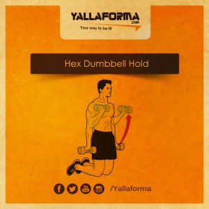 Hex Dumbbell Hold