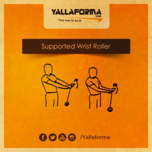 Supported Wrist Roller