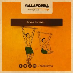knee raises