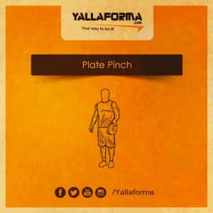 plate pinch