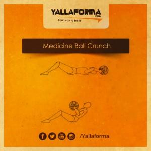 Medicine Ball Crunch