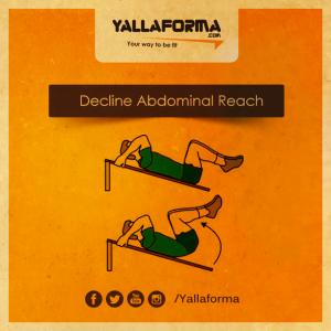 Decline Abdominal Reach