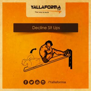 Decline Sit Ups