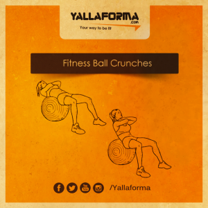 Fitness-Ball-Crunches