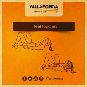 Heel-Touches