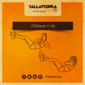 Oblique-V-Up