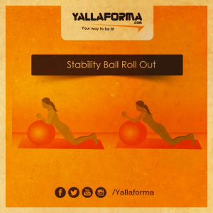 Stability-Ball-Roll-Out