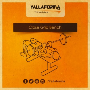 Close-Grip-Bench