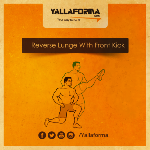 Reverse-Lunge-With-Front-Kick