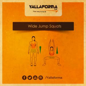 Wide Jump Squats