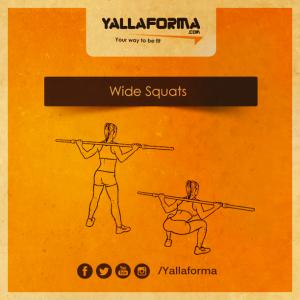 Wide Squats