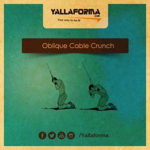 Oblique Cable Crunch