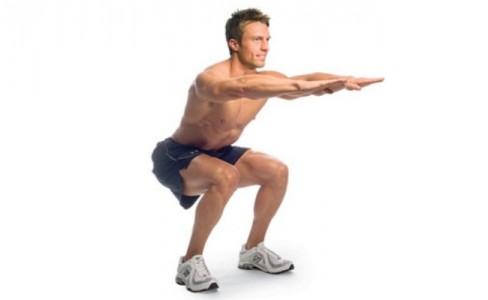 تمارين لشد عضلة الرجل الأمامية