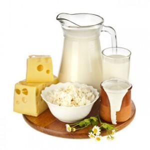 اللبن والجبن والزبادي