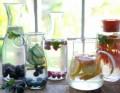 7 أفكار لتحضير مياه بنكهات رائعة لتخفيف الوزن