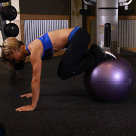 Exercise-ball Tuck