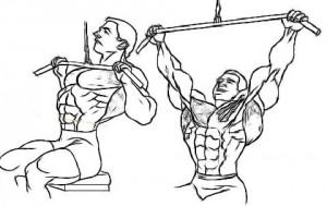 Wide-grip Pulldown