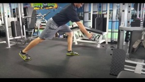 Split Stance Low Cable Row