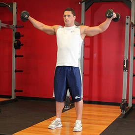 Side Lateral Raise Instructions